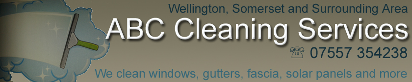 ABC Cleaning Services offers a professional window cleaning and gutter clearance services to both residential and commercial customers.  Based in Wellington, Somerset we cover the South West of Somerset and North Devon Areas.